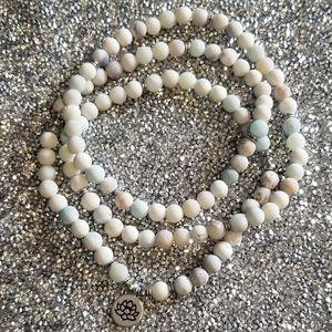 Jewelry - Amazonite Mala Bead Necklace